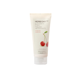 THEFACESHOP - HERB DAY 365 Cleansing Foam Acerola (Trái Cherry)