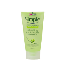 SỮA RỬA MẶT SIMPLE - Kind To Skin Refreshing Facial Wash Gel 150ml ( DẠNG GEL )